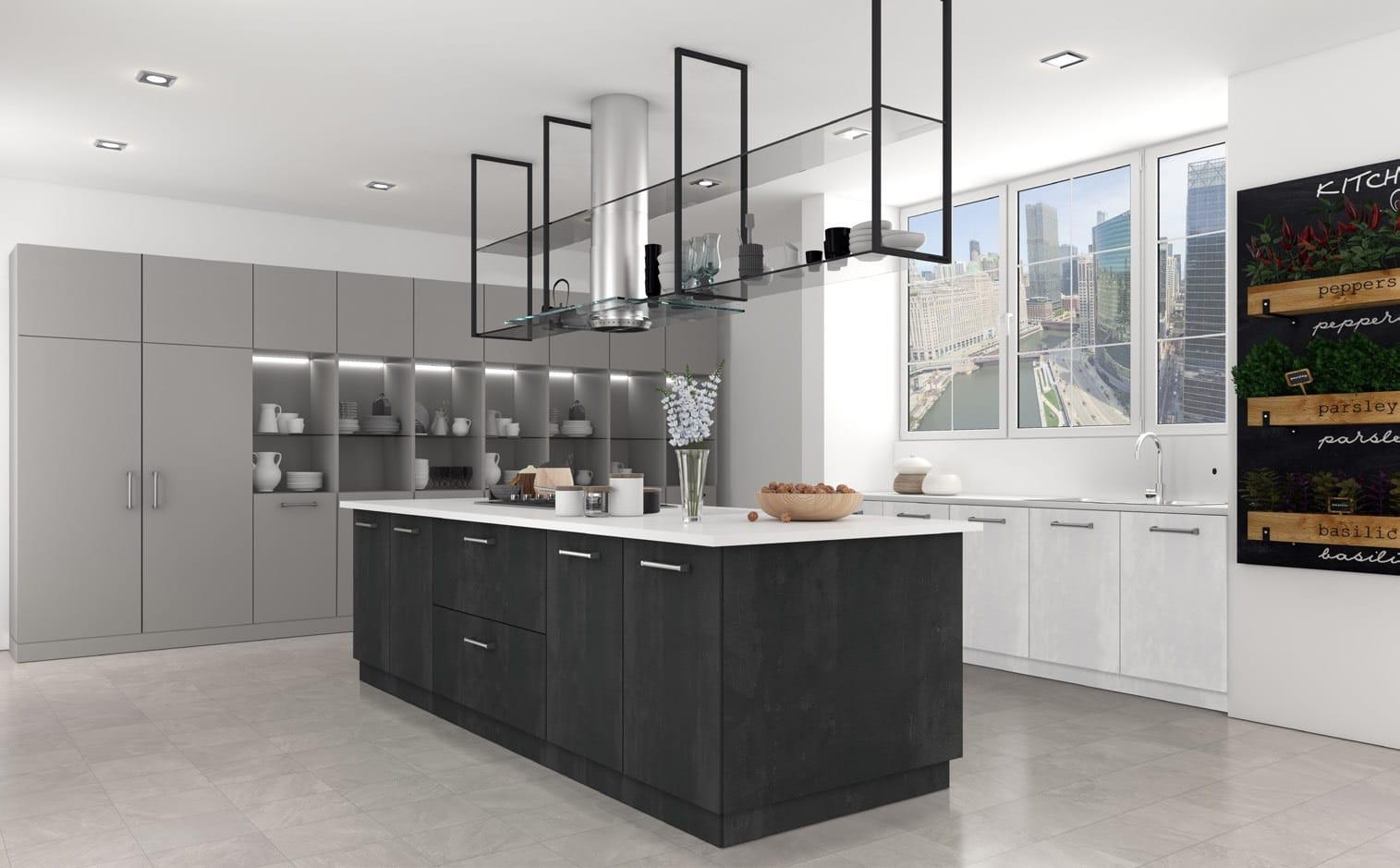 Isla Cocina para reforma piso madrid